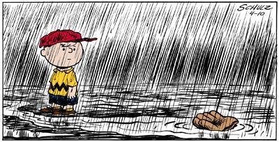 Peanuts - rain